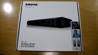 Unboxing Shure BLX288/PG58 Combo español