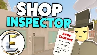 Shop Inspector - Unturned Roleplay (Closing Down Shops For Breaking Basic Hygiene Rules)