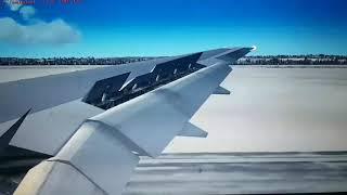 FSX: Saudia B777-200ER Landing in Zürich