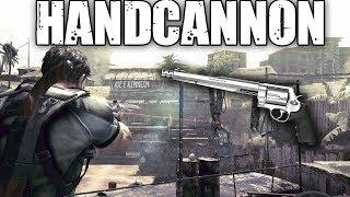 Resident Evil 5 Special Weapons: Handcannon (S&W M500 vs All Bosses)