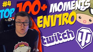 #4 env1ro TOP 100+ Best Moments from Twitch   World of Tanks