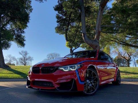 2018 BMW M3 in Ferrari Red!