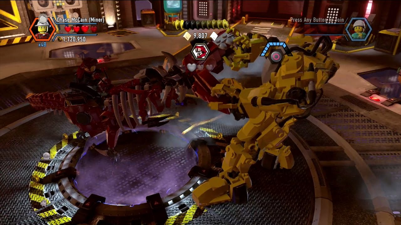 lego city undercover how to play as rex fury