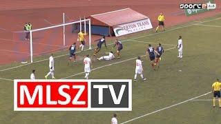 Abdouraman gólja a Nyíregyháza Spartacus - Budapest Honvéd mérkőzésen