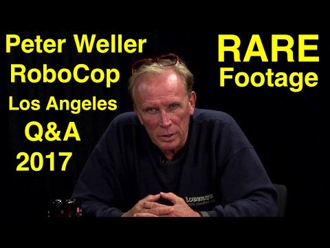 PETER WELLER - ROBOCOP Q&A PANEL 2017 - LOS ANGELES