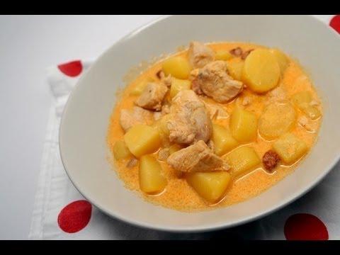 recette de poulet au chorizo et aux pommes de terre recette cookeo youtube. Black Bedroom Furniture Sets. Home Design Ideas