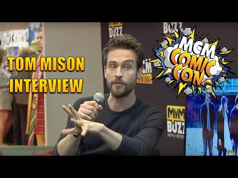 Sleepy Hollow's Tom Mison Answers Questions Sent In By  On Video