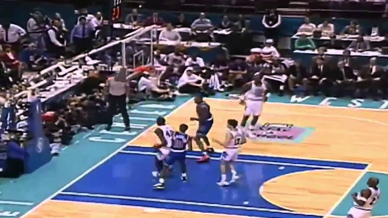 ef1a2aa6 1994 NBA All-Star Game Best Plays - YouTube