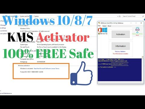 Windows 10/8/7 KMS/KMSAuto.Net  Activator 2020 100% Free Safe