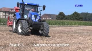 New Holland GPS RTK2 Feldtag Studer