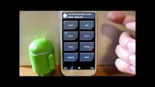 Galaxy S3 update TWRP recovery and make a Nandroid backup.