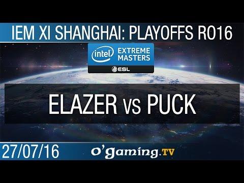 Elazer vs puCK - IEM XI Shanghai - Ro16