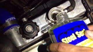 Steel Seal Head Gasket Repair in a 2003 Subaru Impreza WRX EJ205 Turbo