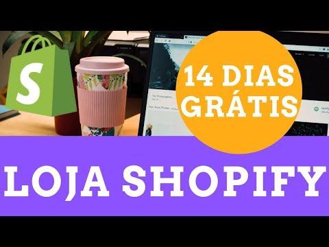 SHOPIFY COMECE SEU TESTE GRÁTIS DE 14 DIAS HOJE MESMO thumbnail