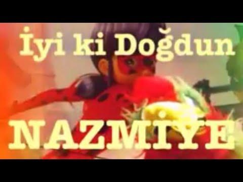 İyi ki Doğdun NAZMİYE:)  Komik Doğum günü Mesajı 1. VERSİYON ,DOĞUMGÜNÜ VİDEOSU Made in Turkey :) 🎂