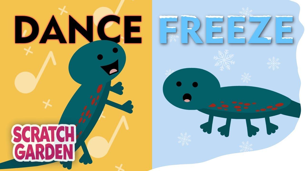 Download The Dance Freeze Song | Freeze Dance | Scratch Garden