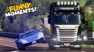 EP.#13 - Funny & Random Moments - Euro Truck Simulator 2