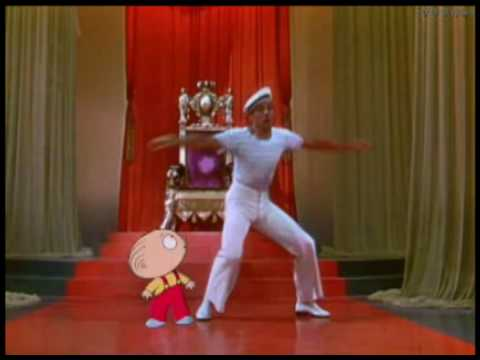 Family Guy  Stewie is dancing with Gene Kelly HQ