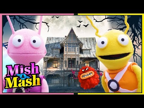 Scary Monster Chase! 🚀★ Alien for Children 🚀★ Fun Puppet - Space Explorers 🚀★ Mish and Mash ★🚀