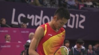 Lin Dan (CHN) v Scott Evans (IRL) - Badminton Singles Group P | London 2012 Olympics
