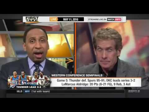 ESPN First Take   Game 5  OKC Thunder Defeat SA Spurs