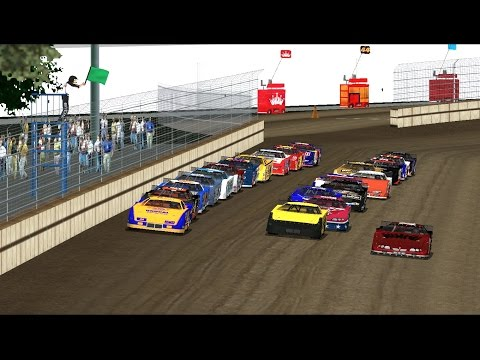 WI TRACK WEDNESDAY! Dodge County Fairgrounds 10% Full Race Outlaws Mod Gameplay. EP 12