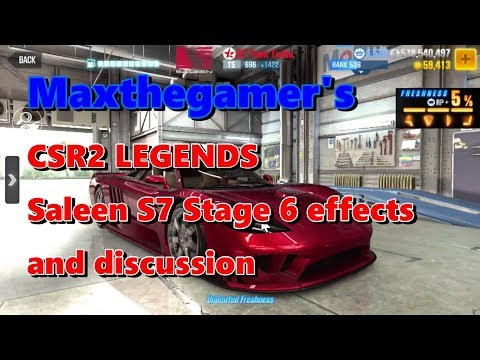 CSR2 Saleen S7 Legends car Stage 6 and discussion - PakVim