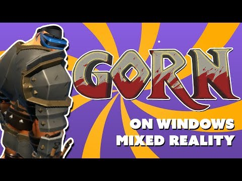 Gorn on Windows Mixed Reality - Melee Testing the Controllers