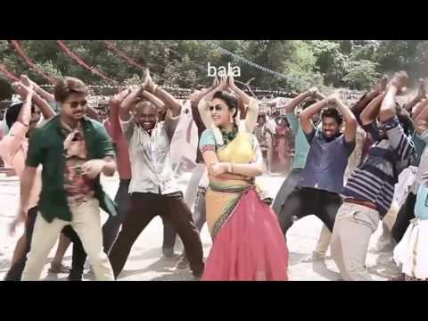 Bairavaa making video creat jilla jeo
