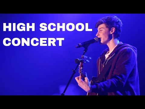 Shawn Mendes Performs in Benefit of Pine Ridge Secondary School Leadership Camp