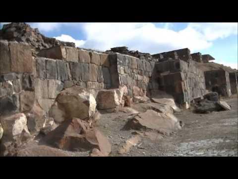 Erebuni fortress and amazing view of Yerevan