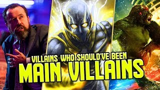 Top 10 Arrowverse Villains Who Should've Been Main Villains