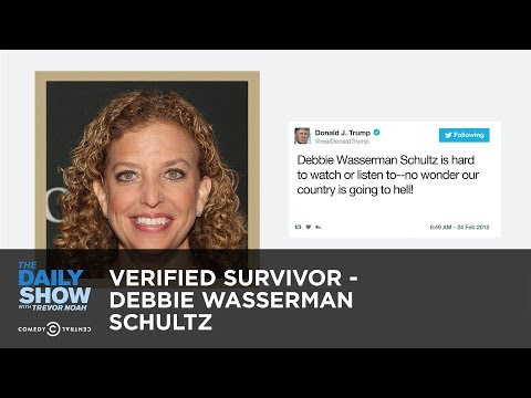 Download Youtube: Verified Survivor - Debbie Wasserman Schultz: The Daily Show