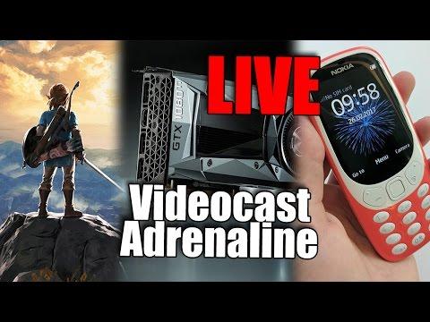 Videocast Adrenaline: MWC 2017, GTX 1080 Ti e o Nintendo Switch!