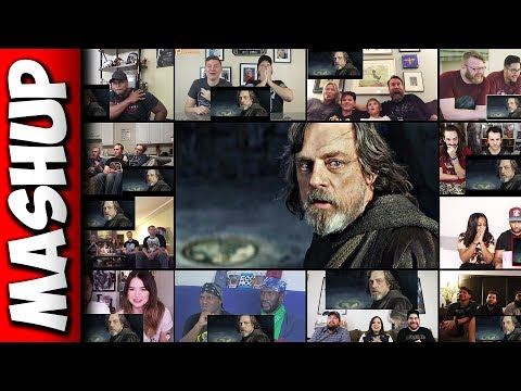 Star Wars: The Last Jedi Trailer Reaction Mashup