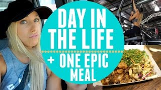Day In The Life | One Huge Epic Meal | Mixing Up My Training