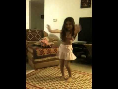 4 year old Persian girl dancing