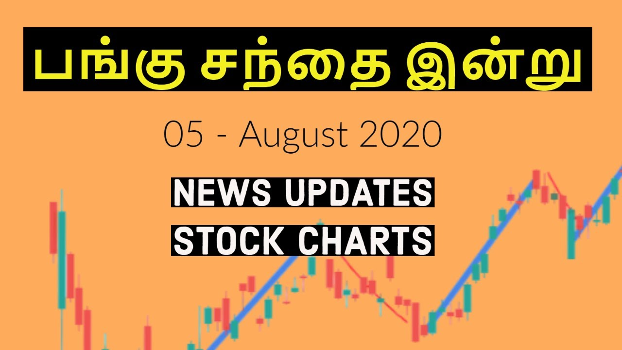 Stock Market Today - 05 August 2020 | Tamil Share | Intraday Trading Strategy