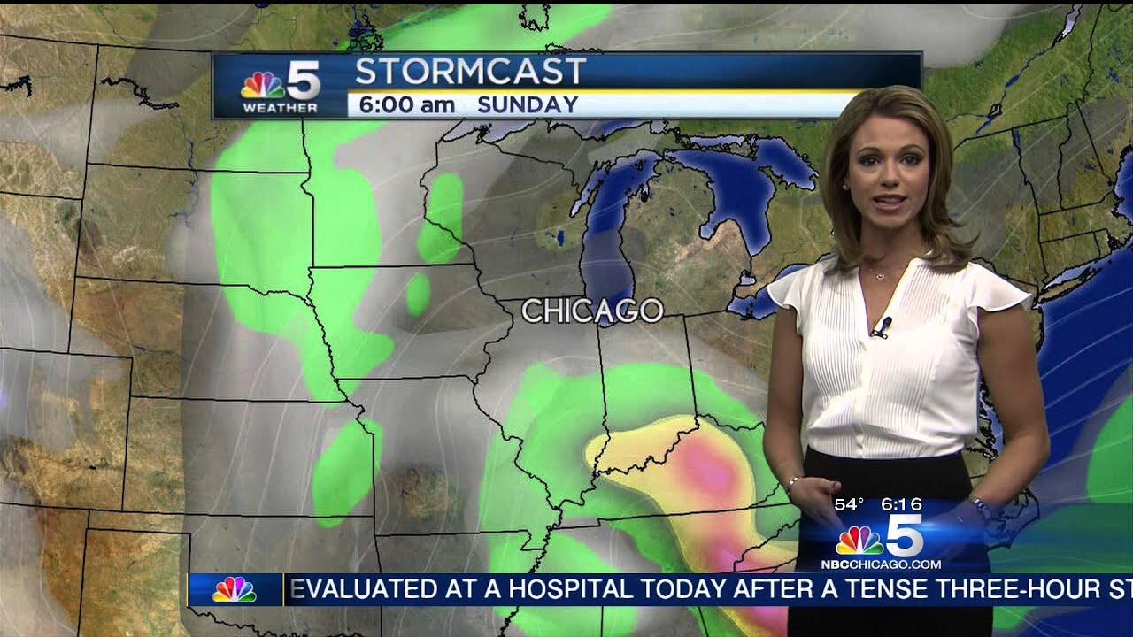 Chicago Channel 5 Weather Girl - Year of Clean Water