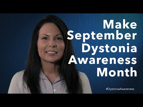 Make September #DystoniaAwareness Month!