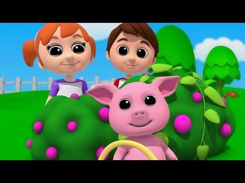 Luke & Lily - Mulberry Bush | Nursery Rhymes | Songs For Children | Video For Kids