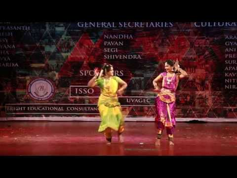 SOOCHOW UNIVERSITY CULTURALS 2017 DANCE PERFORMANCE 11 Suzhou Jiangsu China BARATHANATYAM 2017