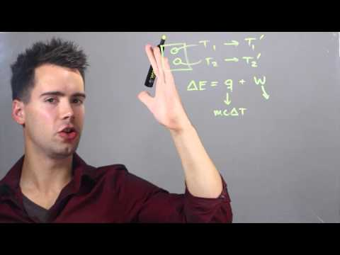 How to Calculate Energy Transfer in Chemistry Classes : Solving Math Problems