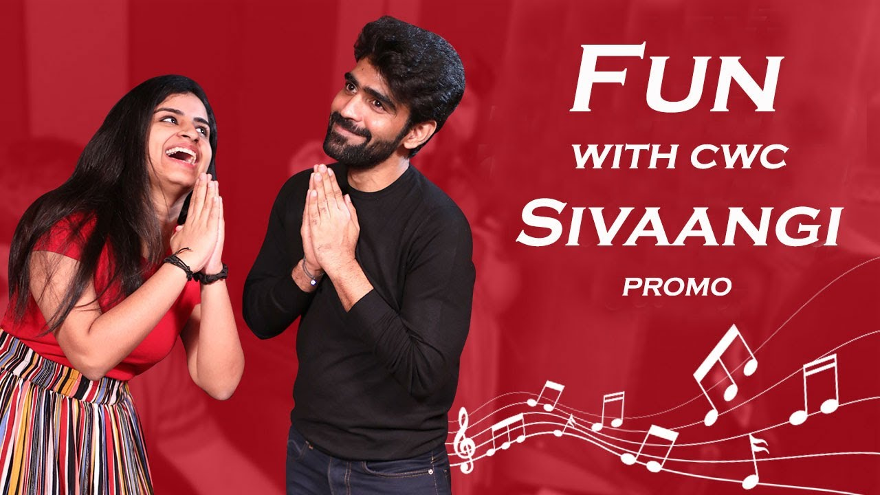 Fun with CWC @Sivaangi Krishnakumar at recording studio with Nivas -  Promo  | Collaborative Series