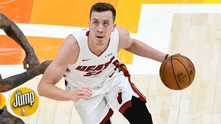 Teams have figured out Duncan Robinson and that's a problem for the Heat - Matt Barnes | The Jump