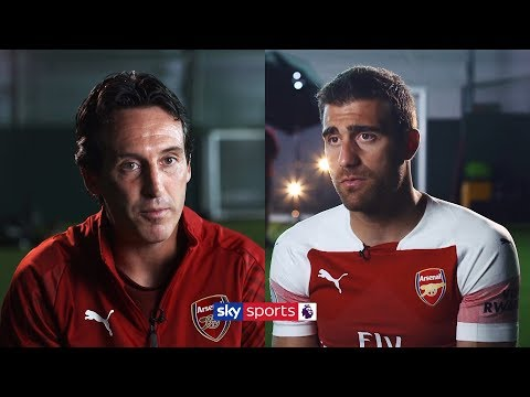 Unai Emery and Sokratis on Arsenal ambitions and new playing-style
