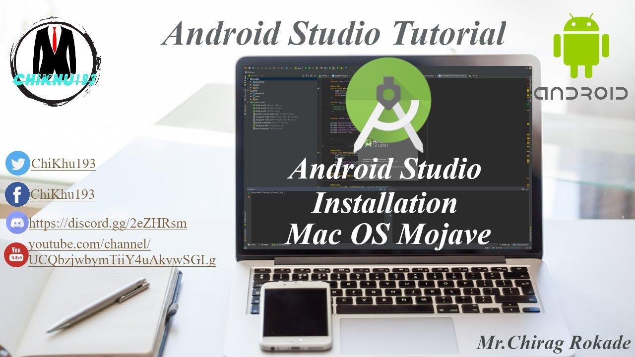 Sava video -Android Studio on Mac OS Mojave- Sava video