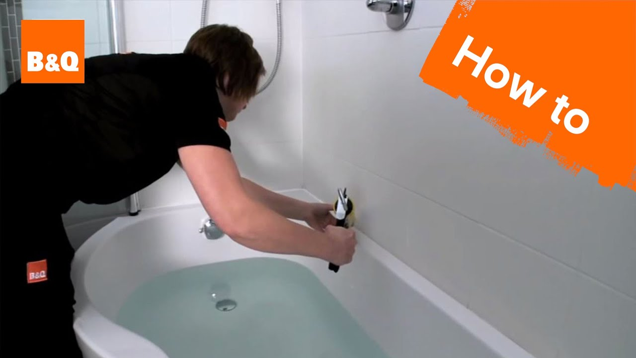 How to seal a bath