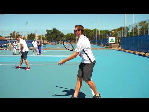 Aus Open Champs Hit it Off With Future Stars | World Tennis Challenge 2018