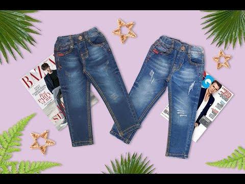 Quần Jeans Dài Bé Trai Size 7 Tuổi đến 11 Tuổi (20kg đến 35k)g